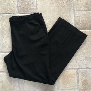 Karl Lagerfeld Black Straight Leg Pants 16
